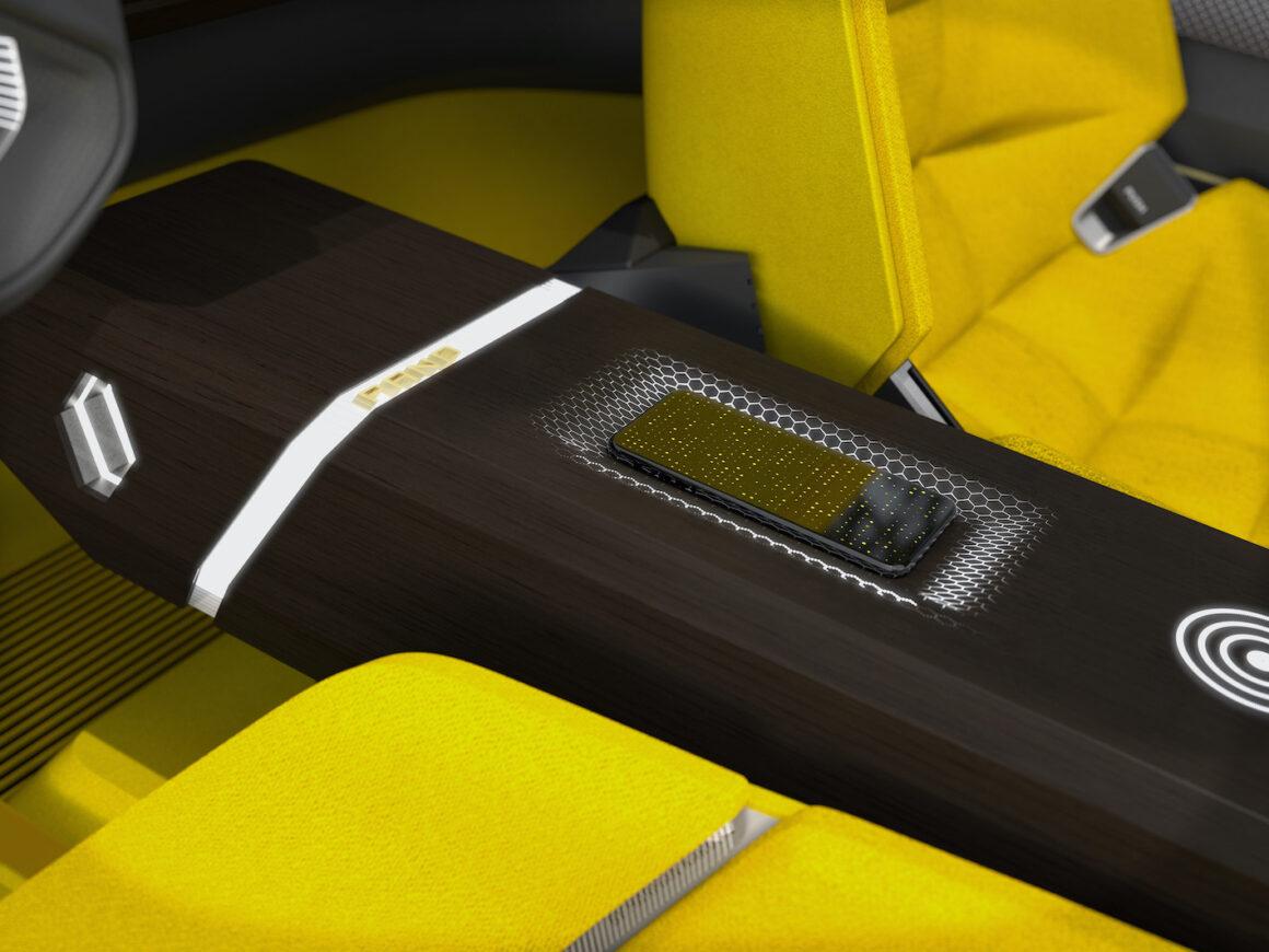Renault Morphoz vue intérieur