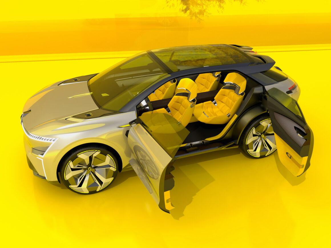 Renault Morphoz vue extérieur
