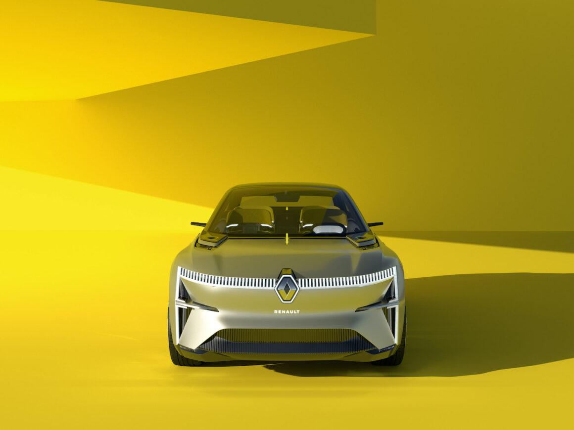 Renault Morphoz vue face avant